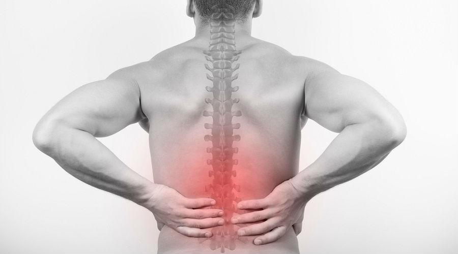 alivia el fuerte dolor de espalda