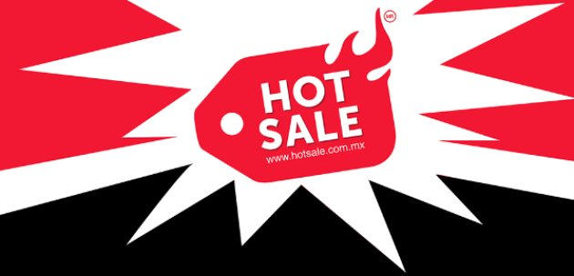 Etiqueta de Hot Sale México