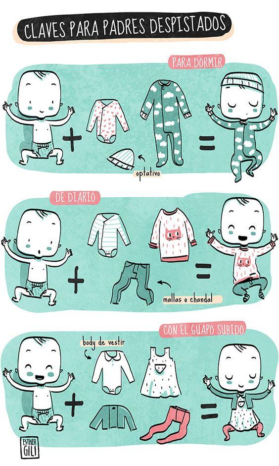 Tips de cómo vestir a un bebé recién nacido