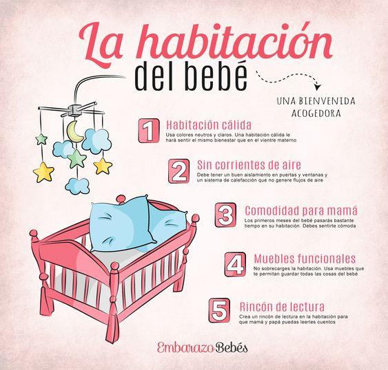 Claves para la habitación de un bebé
