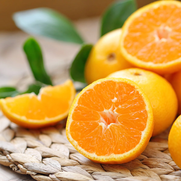 Naranjas partidas