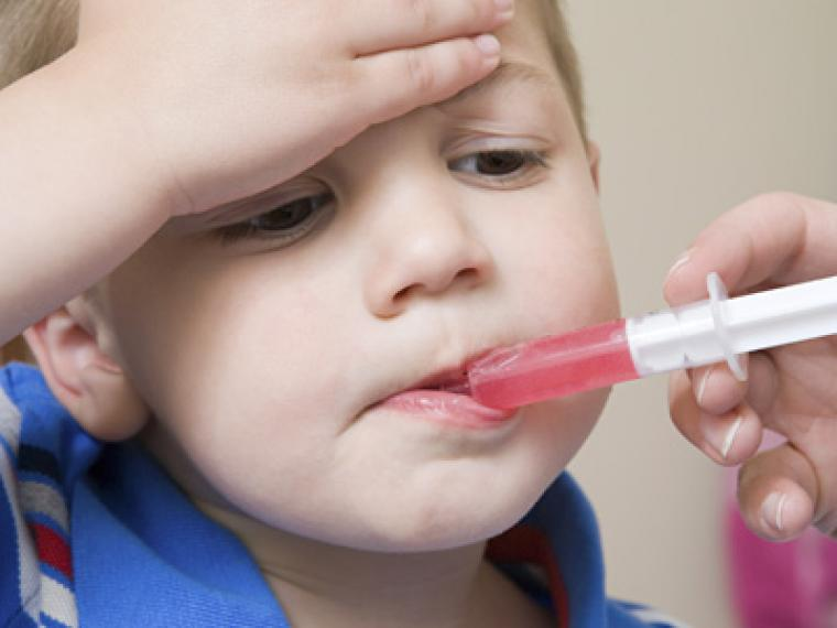 antibióticos para niños