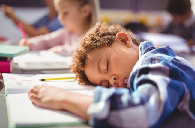niños con sueño