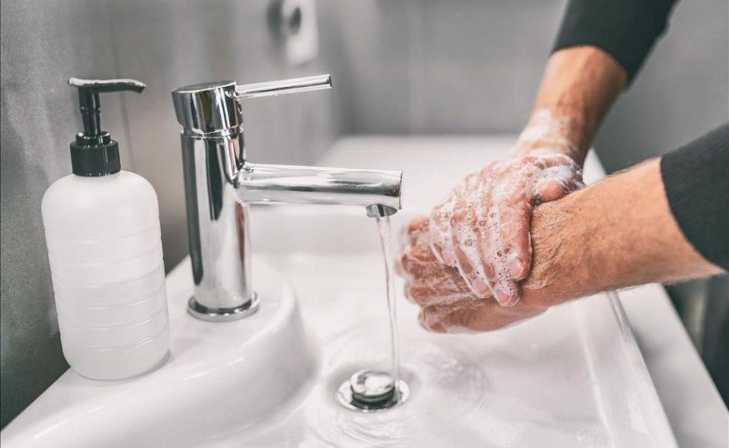 Lavarse las manos previene enfermedades