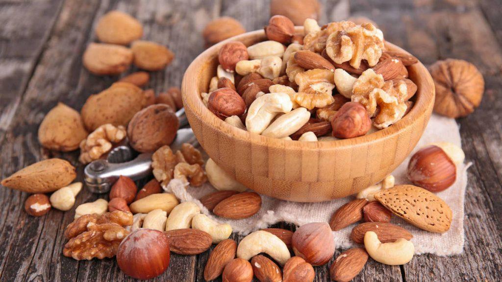 Cantidad adecuada para comer frutos secos