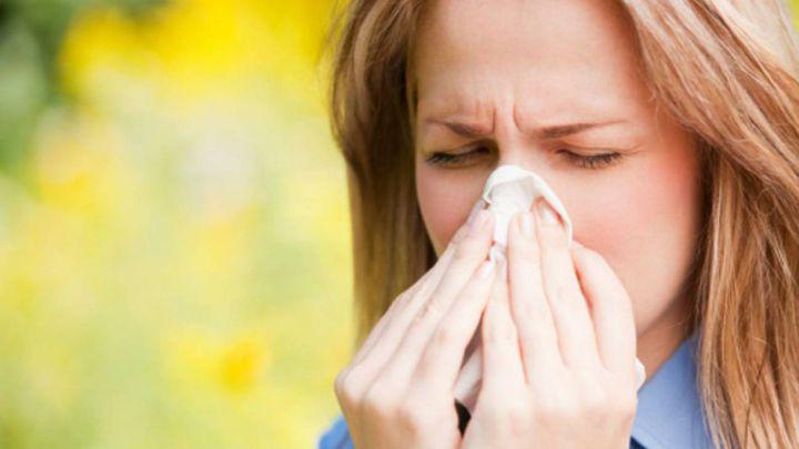 molestia y la alergia