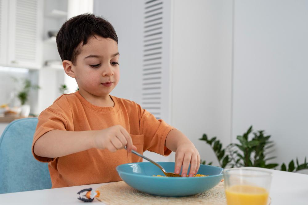 Importancia del desayuno para los niños